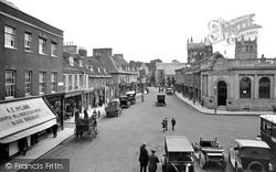Wimborne, High Street 1923, Wimborne Minster