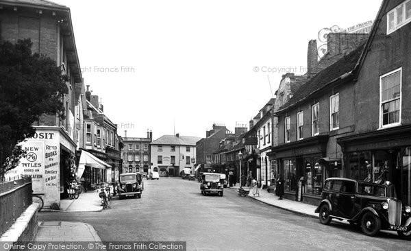Photo of Wimborne, High Street 1936
