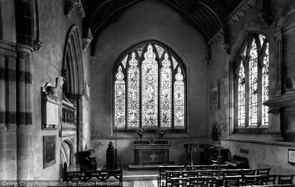 Photo of Wimborne, Holy Trinity Chapel 1908