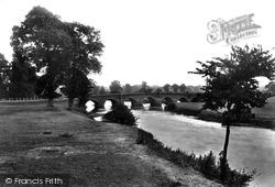 Wimborne, Julian's Bridge 1908, Wimborne Minster