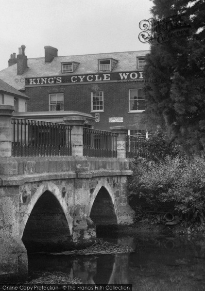 Photo of Wimborne, King's Cycle Works 1904