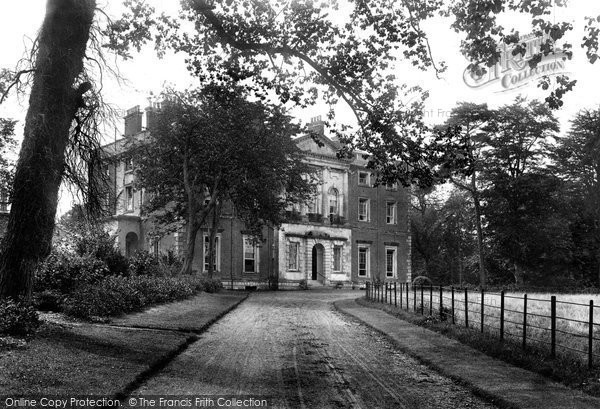 Photo of Wimborne, Merley House 1904