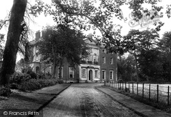 Wimborne, Merley House 1904, Wimborne Minster