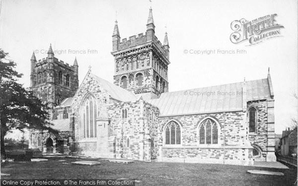 Photo of Wimborne, Minster 1891