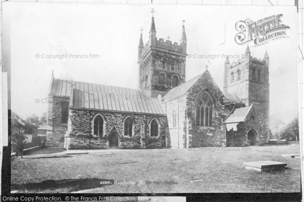 Photo of Wimborne, Minster 1899