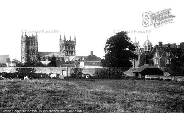 Photo of Wimborne, Minster 1904