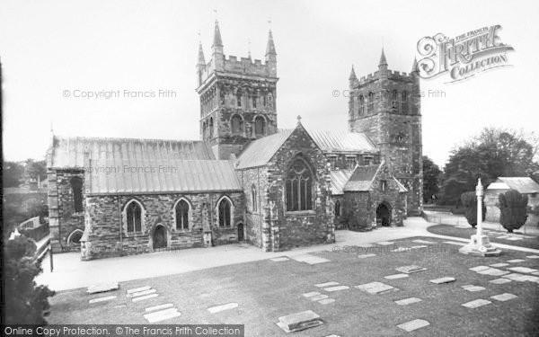 Photo of Wimborne, Minster 1936