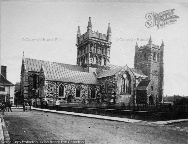 Photo of Wimborne, Minster c.1880