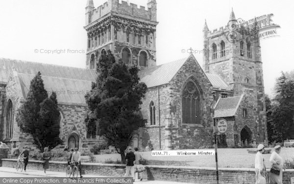 Photo of Wimborne, Minster c.1965