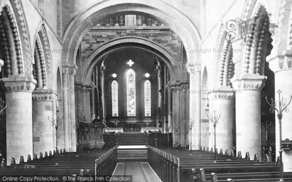 Photo of Wimborne, Minster, Nave East 1886
