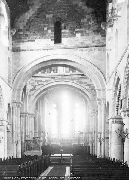 Photo of Wimborne, Minster, Nave East 1886