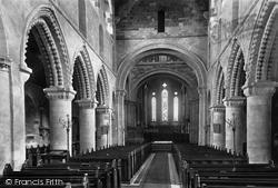 Wimborne, Minster, Nave East 1899, Wimborne Minster