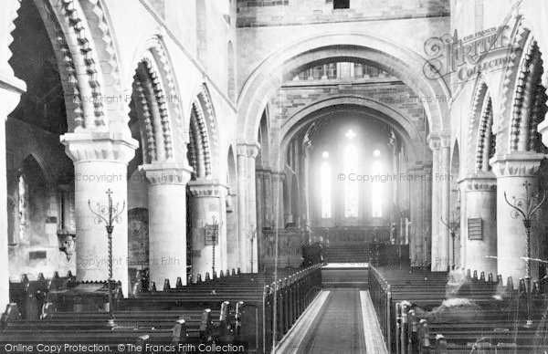 Photo of Wimborne, Minster, Nave East c.1890