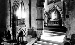 Wimborne, Minster, Presbytery From St George's Chapel 1886