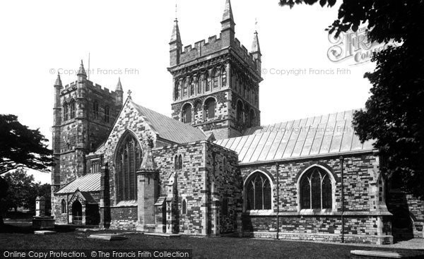 Photo of Wimborne, Minster S.E 1899