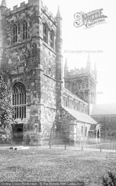 Photo of Wimborne, Minster S.W 1899
