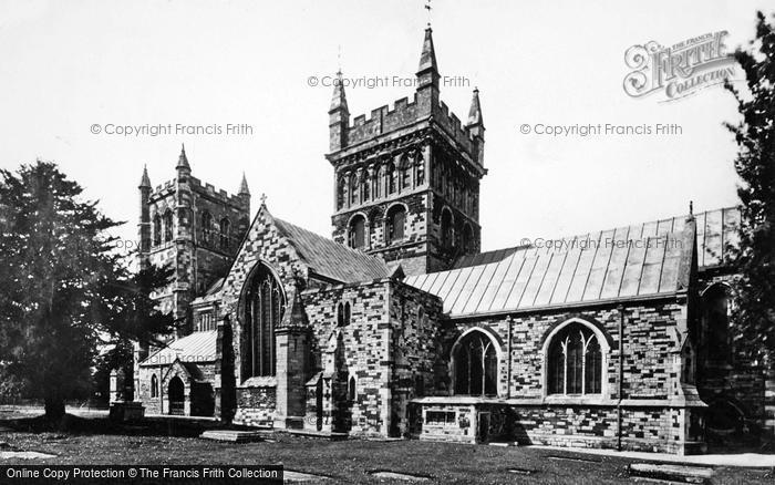 Photo of Wimborne, Minster, South Side 1936