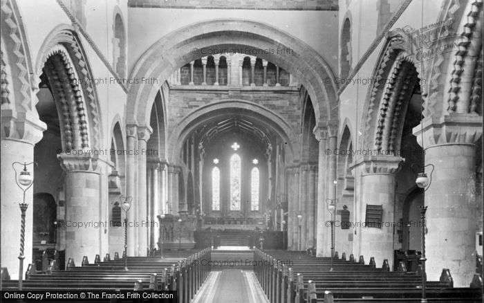 Photo of Wimborne, Minster, The Nave East 1936