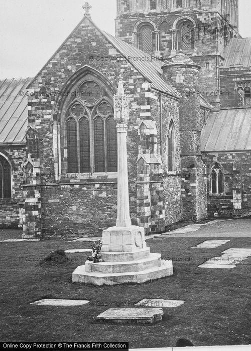 Photo of Wimborne, Minster, War Memorial 1923