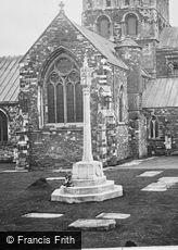 Wimborne, Minster, War Memorial 1923