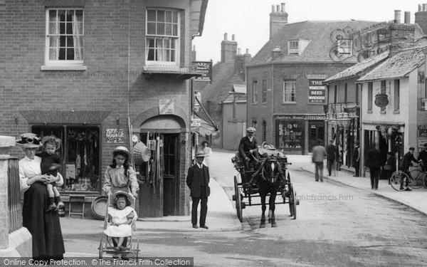 Photo of Wimborne, People In East Brook 1908