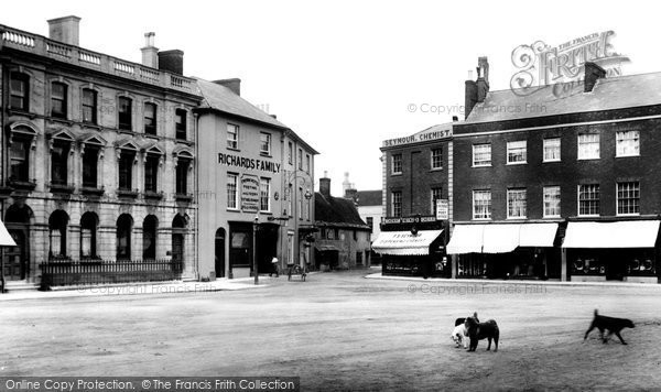 Photo of Wimborne, Square 1904