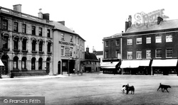 Wimborne, Square 1904, Wimborne Minster