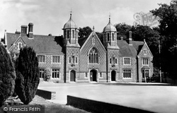 Wimborne, The Grammar School c.1955, Wimborne Minster