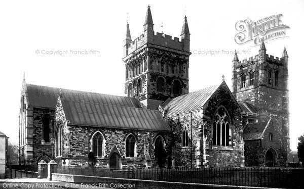 Photo of Wimborne, The Minster 1891