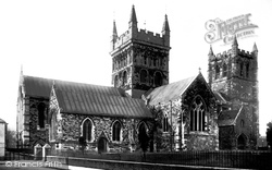 Wimborne, The Minster 1892