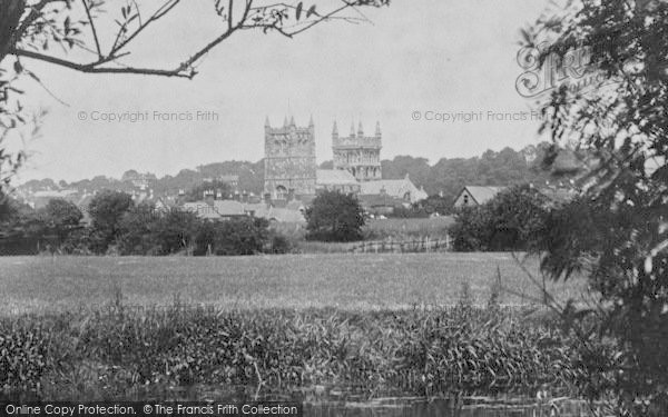 Photo of Wimborne, The Minster From The River Frome 1899