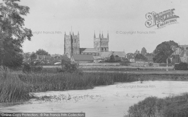 Photo of Wimborne, The Minster From The River Frome 1904