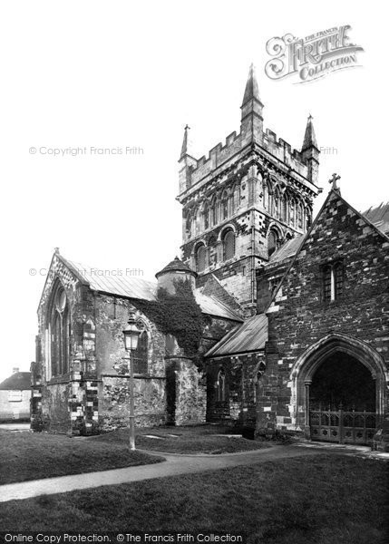 Photo of Wimborne, The Minster, North Transept 1886