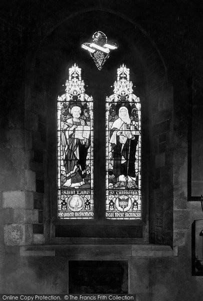 Photo of Wimborne, The Minster, St Luke And St Cuthberga's Window 1908