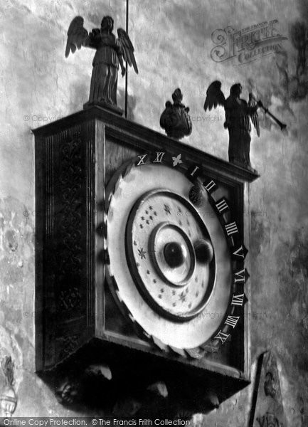 Wimborne, The Minster, The Astronomical Clock 1886