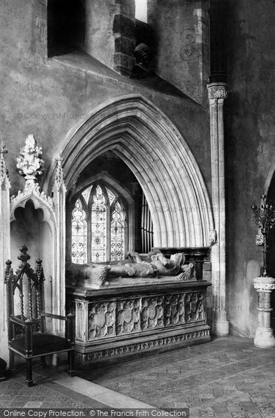 Photo of Wimborne, The Minster, The Beaufort Or Somerset Tomb 1886