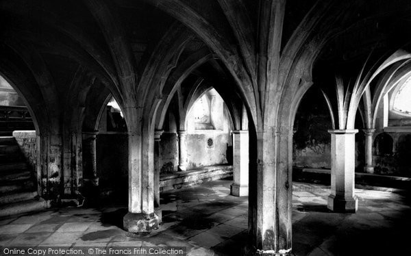 Photo of Wimborne, The Minster, The Crypt 1886