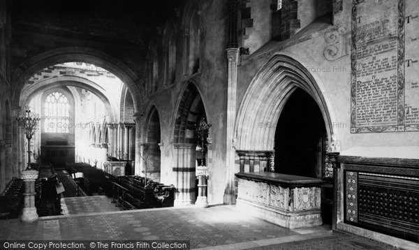 Photo of Wimborne, The Minster, The Presbytery And Choir 1886