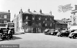 Wimborne, The Square c.1955, Wimborne Minster