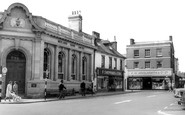 Wimborne, the Square c1965
