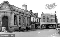 Wimborne, The Square c.1965, Wimborne Minster