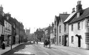 Wimborne, West Borough 1908