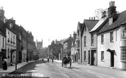Wimborne, West Borough 1908, Wimborne Minster