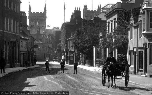 Photo of Wimborne, West Borough 1908