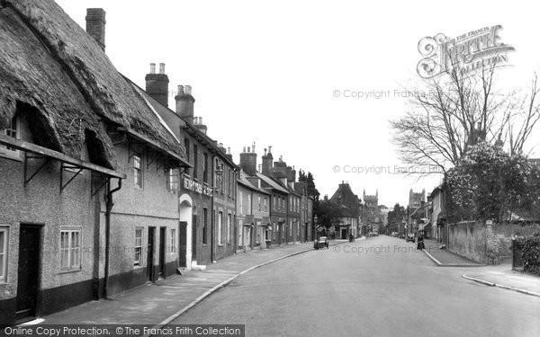 Photo of Wimborne, West Borough 1936