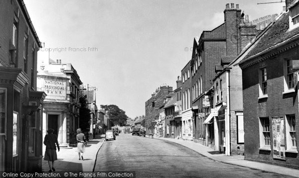 Photo of Wimborne, West Borough c.1955
