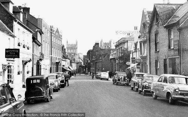 Photo of Wimborne, West Borough c.1960