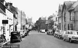 Wimborne, West Borough c.1960, Wimborne Minster