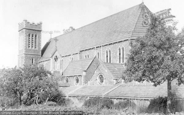Photo of Wincanton, Catholic Church Of St Luke And St Teresa c.1955