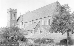 Wincanton, Catholic Church Of St Luke And St Teresa c.1955